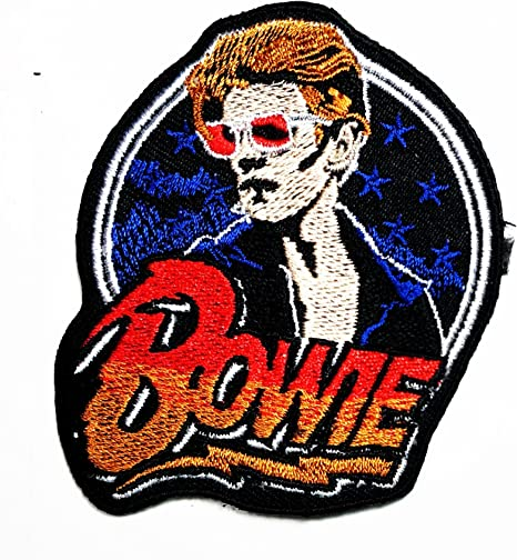 David Bowie música banda Heavy Metal Punk Rock Logo hierro en Sew ...