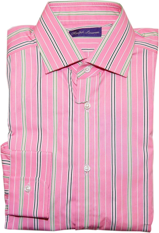 Ralph Lauren Purple Label Made in Italy 100/% Cotton Dress Shirt