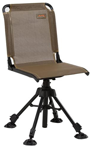 Blind Chair Folding Hunting Stool Ground Turkey Deer Outdoor Seat Portable Brown