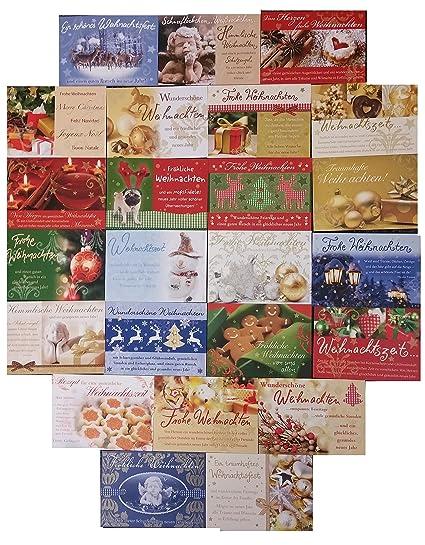 Hochwertige Weihnachtskarten.50 Zauberhafte Und Hochwertige Weihnachtskarten 17x12cm Ua Von Perleberg In Verschiedenen Wunderschönen Winterlichen Weihnachten Designs