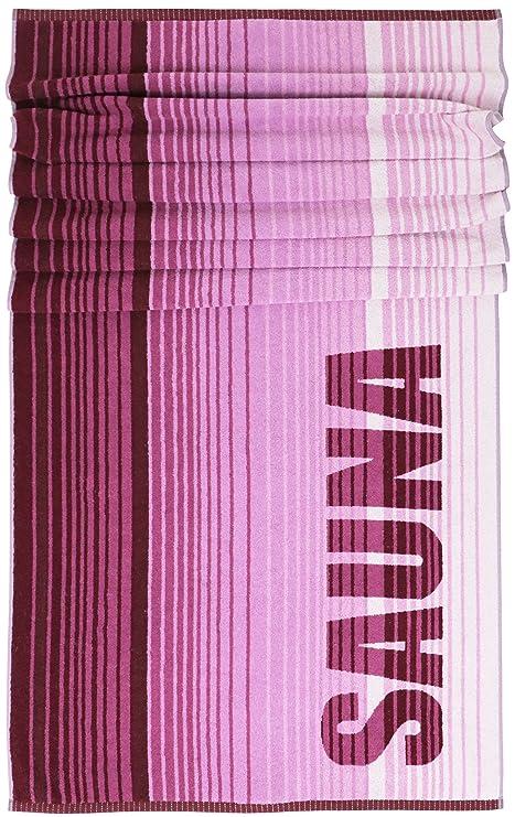 Lashuma Sauna rayas | XXL Toallas de mano 85 x 200 cm | Camilla de sauna