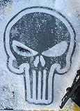 Toejamr Snowboard Stomp Pad - Sniper Skull - Gray