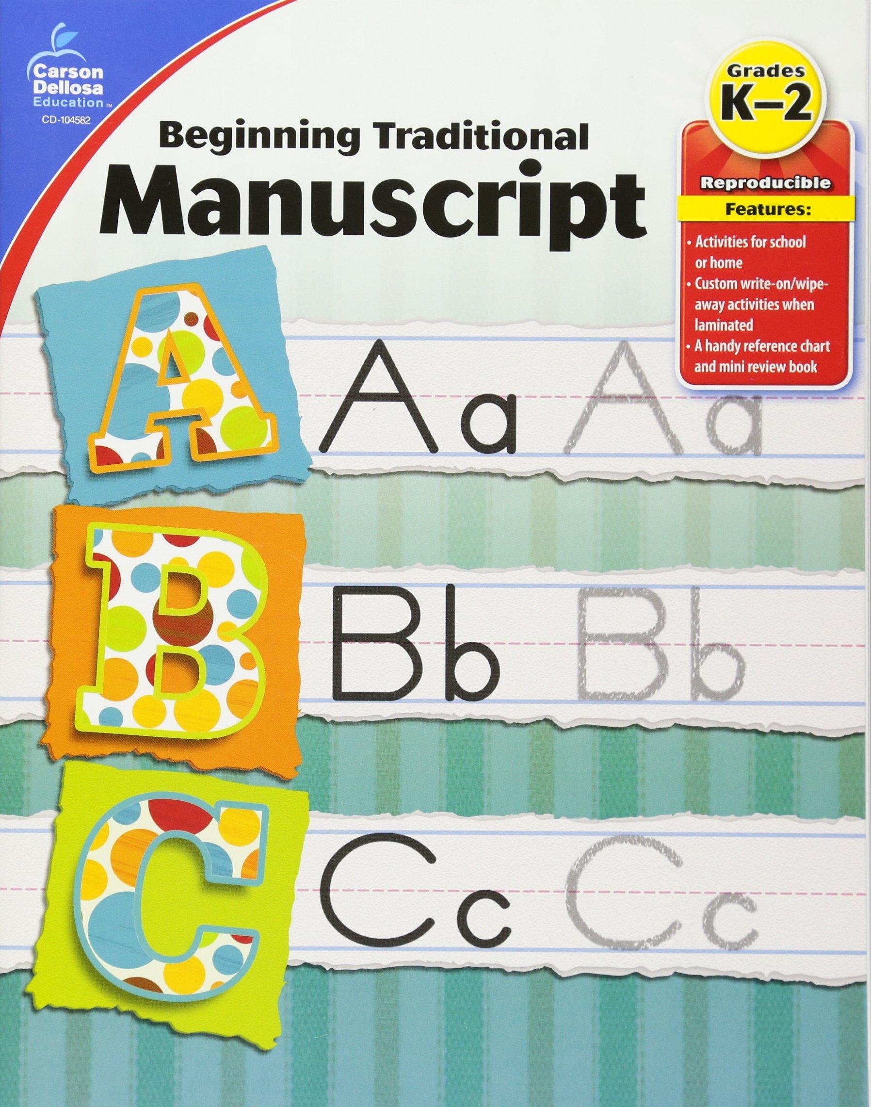 Beginning Traditional Manuscript, Grades K - 2 PDF