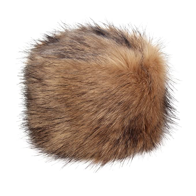 6fae39cd87a Futrzane Women s Russian Cossack Faux Fur Hat for Winter  Amazon.ca ...