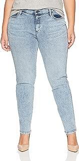 product image for James Jeans Women's Plus Size Pencil Twiggy Cigarette Leg Jean in New Wave