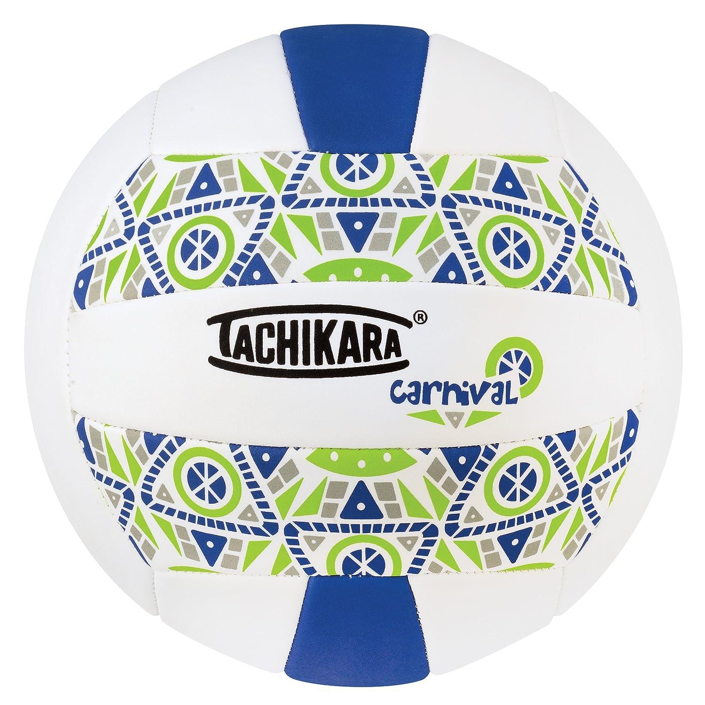 Tachikara SofTec CARNIVAL Volleyball, Royal White