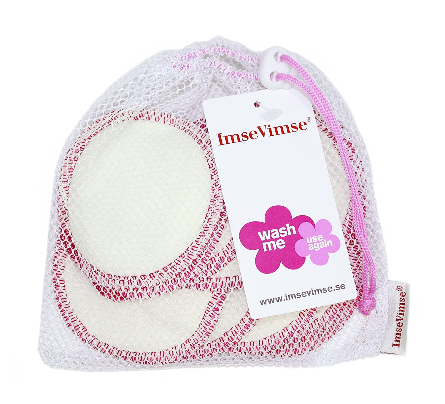 ImseVimse Washable Make-Up Removal Pads 1805