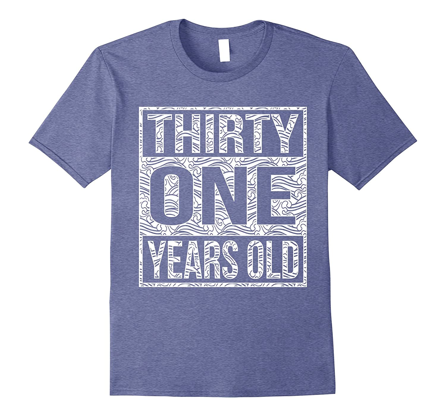 31 Years Old 31st Birthday Shirt Teevkd