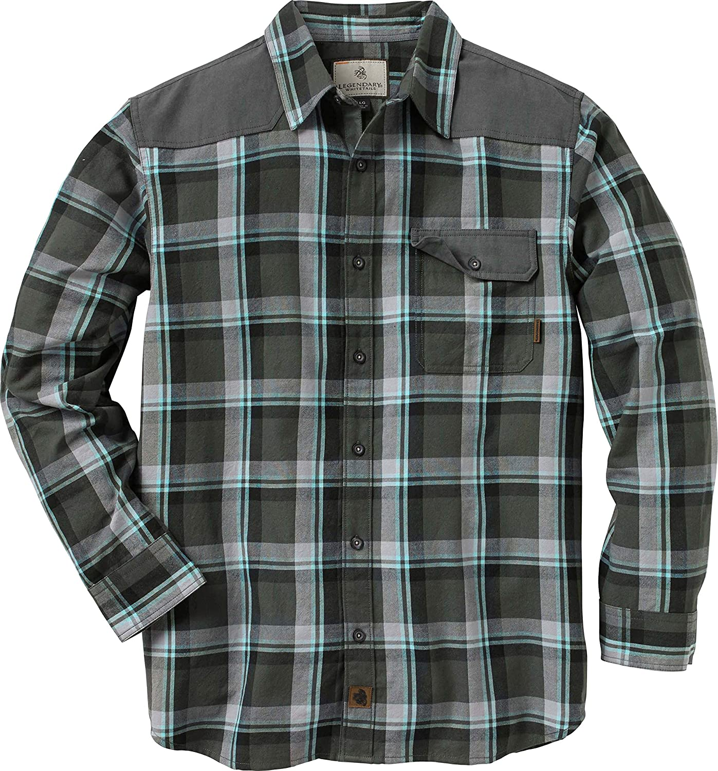 Legendary Whitetails Men's Midnight Chalet Flannel