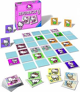 Ravensburger 22280 Memory - Juego de Mesa de Memoria, diseño de Hello Kitty: Amazon.es: Juguetes y juegos
