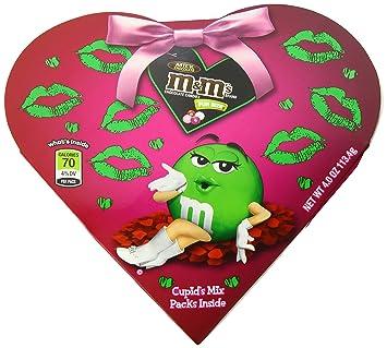 Amazon Com M M S Valentine S Day Milk Chocolate Candy Cupid S Mix