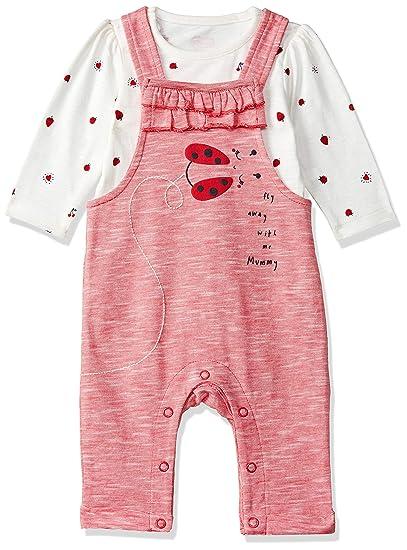 Baby Girls Cotton Clothing Set (SA497-1_Multicoloured_Newborn (Upto 4.5 KG))