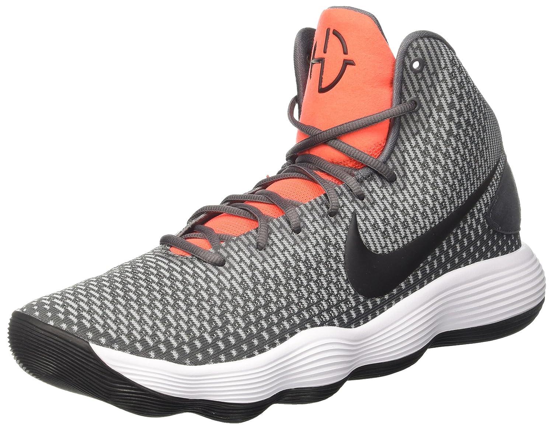 Nike Hyperdunk 2017, Zapatos de Baloncesto para Hombre 44 EU Multicolor (Dark Grey/Black/Bright Crimson)