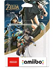 Amiibo The Legend of Zelda: Breath of the Wild Link a Cavallo Figurina