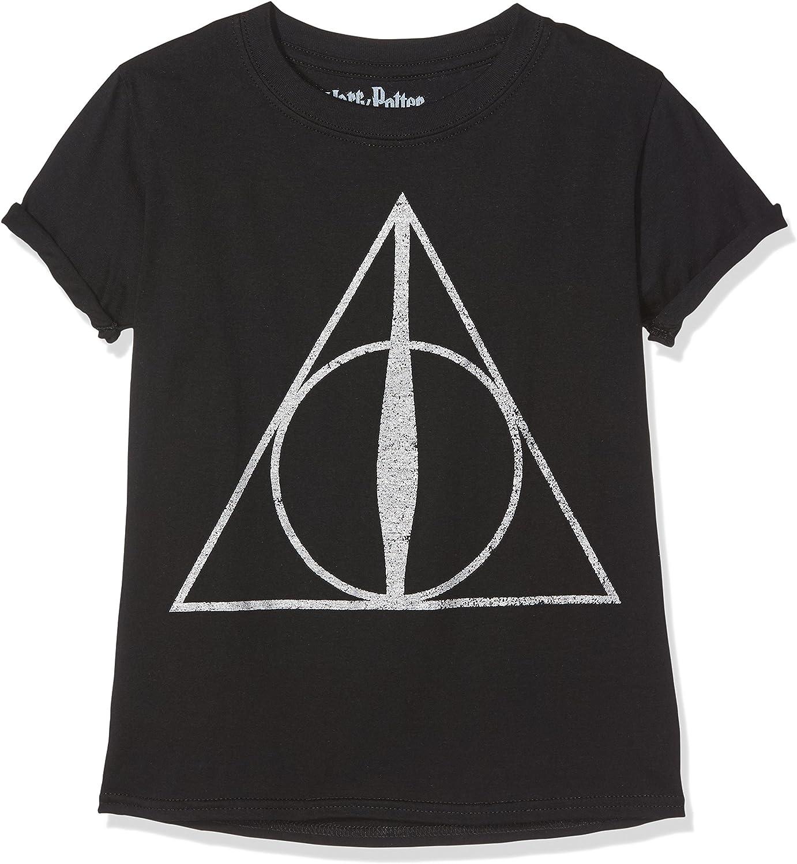 Deathly Hallows Symbol, Felpa Bambina, , 9 10 Anni