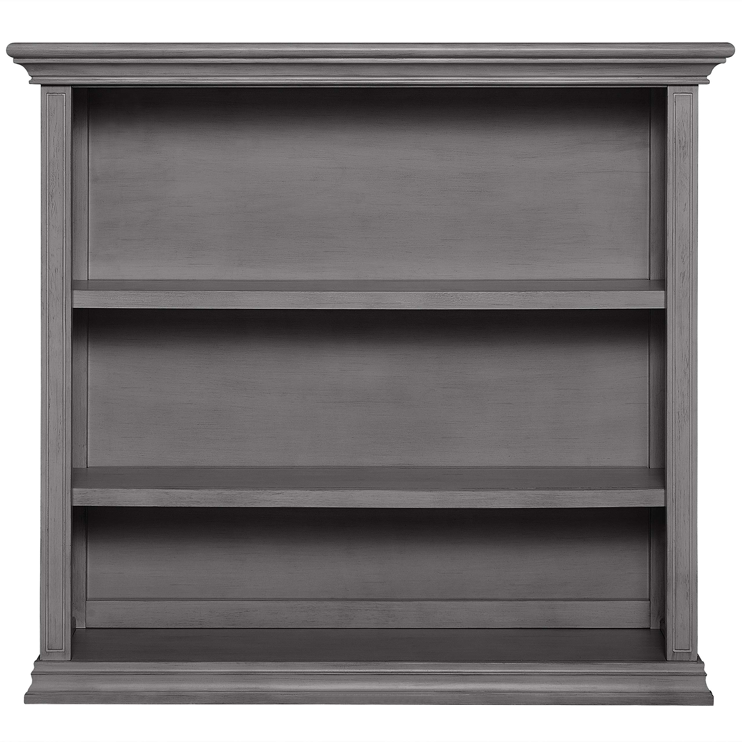Evolur Mini Bookcase, Rustic Grey by Evolur