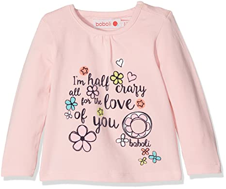 Boboli Baby Girls Longsleeve T Shirt Amazon Co Uk Clothing