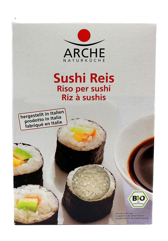 Arche Organic Sushi Rice Vegan 17.6oz: Amazon.com: Grocery ...