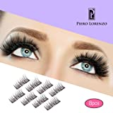 Amazon Price History for:8x Magnetic Eyelashes Glue-free 3D Reusable Dual Magnet Premium Quality Natural Look Best Fake Lashes