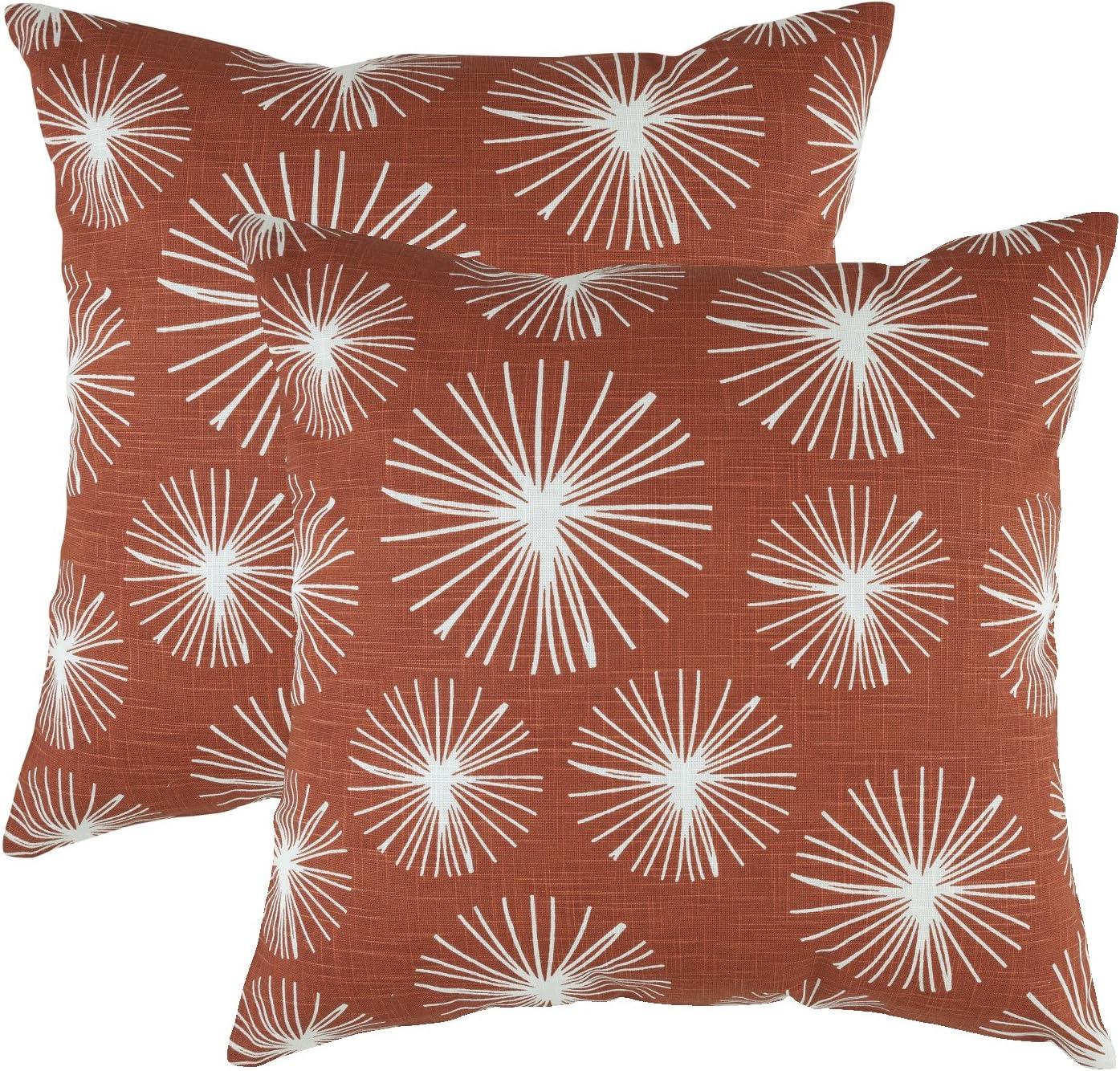 TreeWool - Pack de 2 - Estallido estelar Decorativo fundas de ...