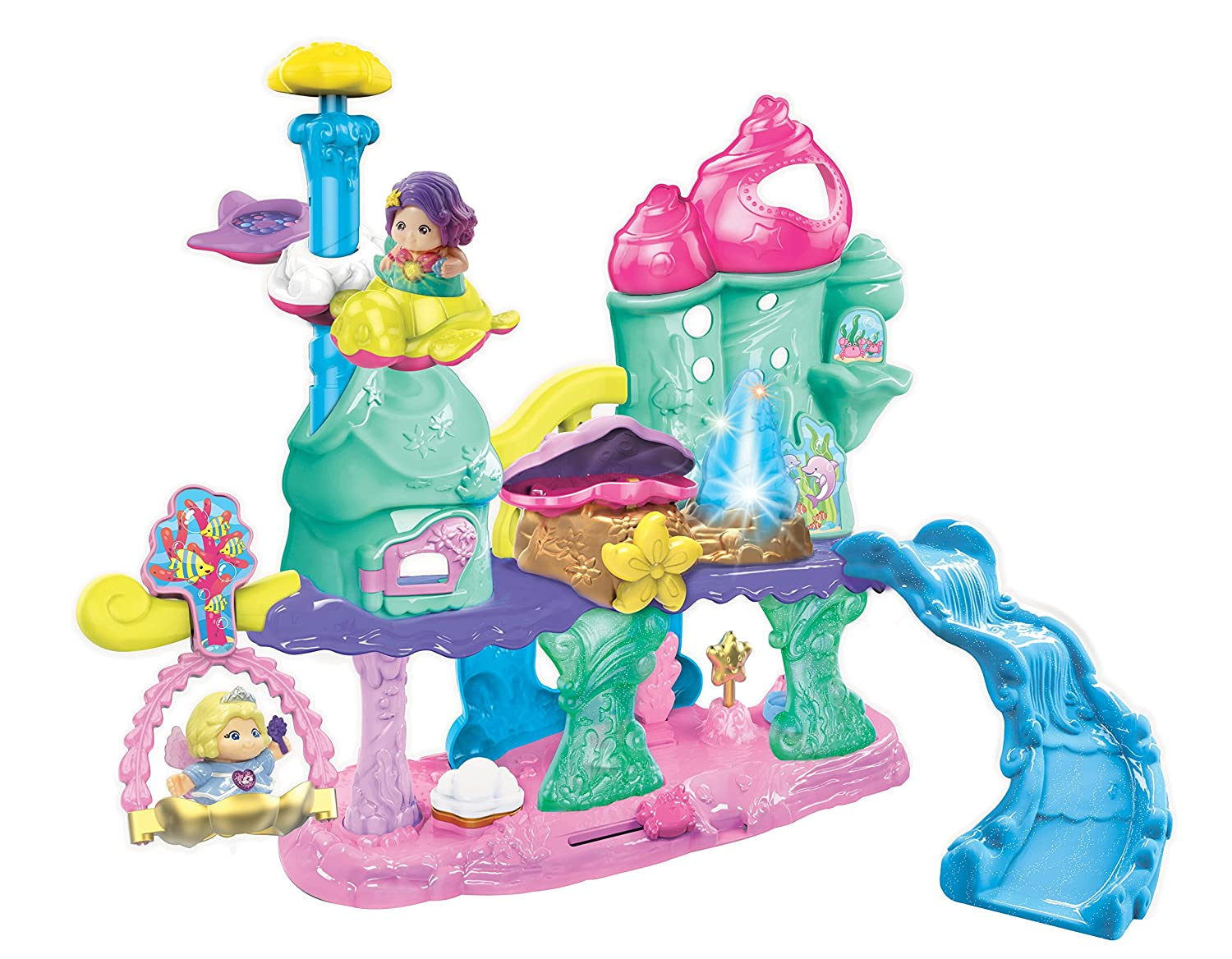 VTech Go CA 199405 Go French Version VTech Smart Friends Shimmering Seashell Castle