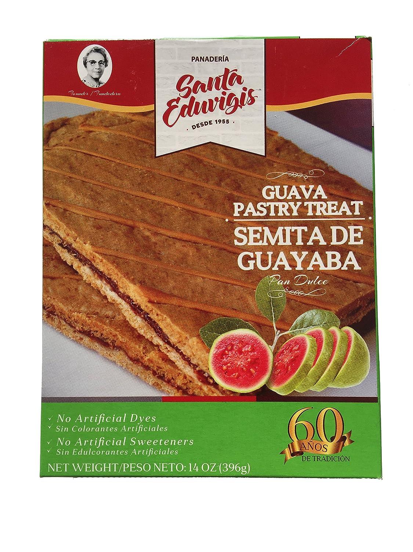 Amazon.com: SANTA EDUVIGIS Pan Dulce - Semita Salvadoreña. (Semita de Guava, 14 oz.)