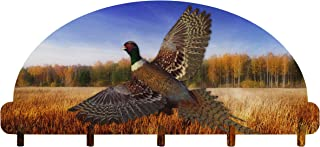 """product image for Next Innovations 101212022 Key Rack Pheasant Home Decor, 8"""" x 14.75"""", Blue"""