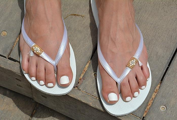 96ea438b14fff2 Wedding Flip Flops for Women