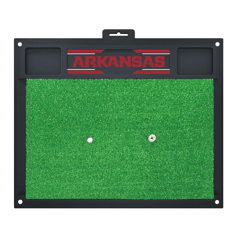 NCAA University of Arkansas Razorbacks Golf Hitting Matゴルフ練習アクセサリー   B07F1WKNXS