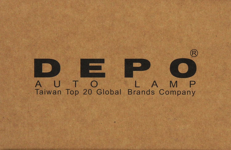 Depo 330-50008-002 Front Driver Side Replacement Exterior Door Handle
