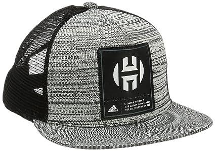 adidas Harden Cap Gorra de Tenis, Hombre, Gris-(brgros/Negro), OSFM