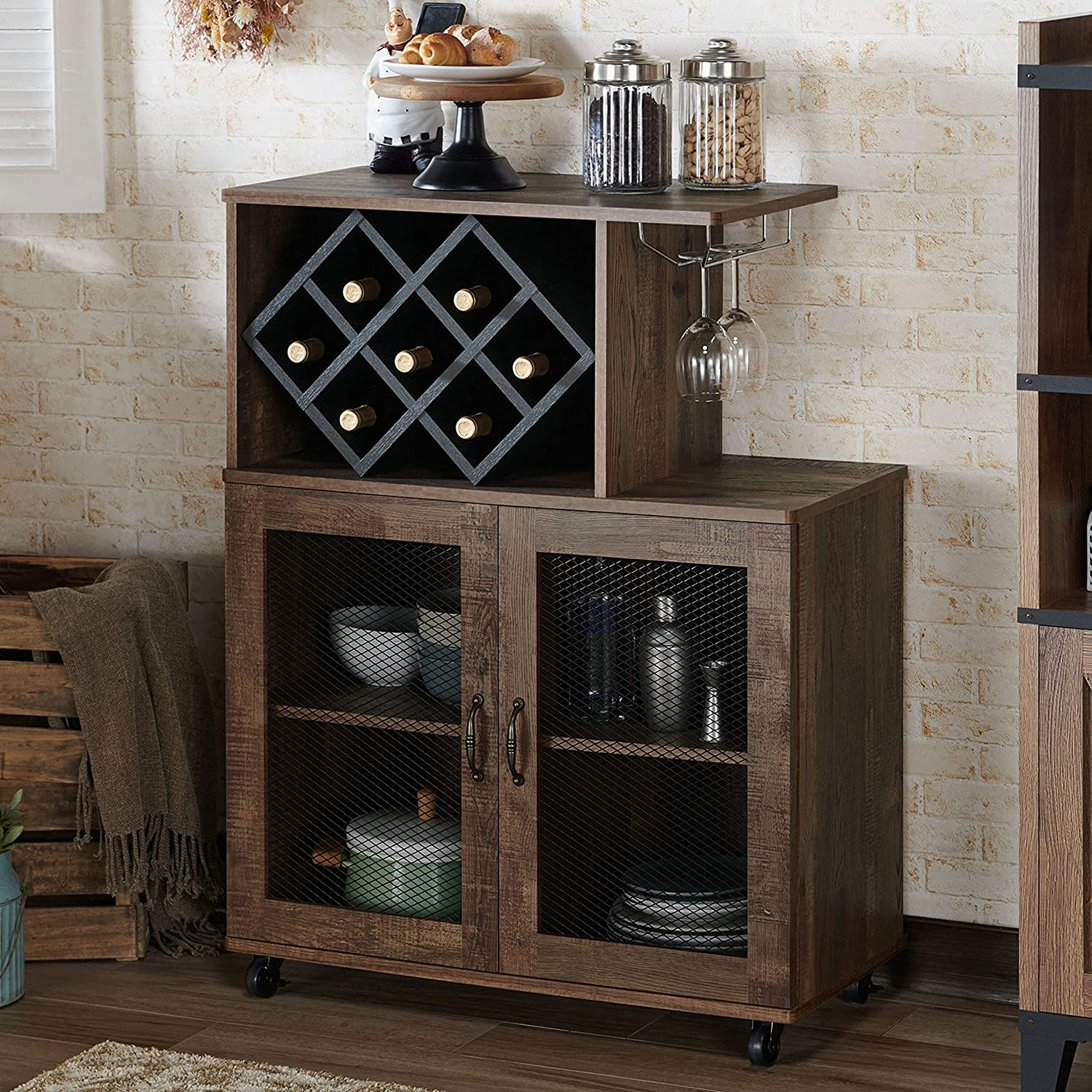 Oak Reclaimed Contemporary Mini- Hardware Includes MDF Modern Casual Brown Bar Bar Cabinets,Bars & Wine Cabinets all products get up to 34% off - www.fishtail.ie