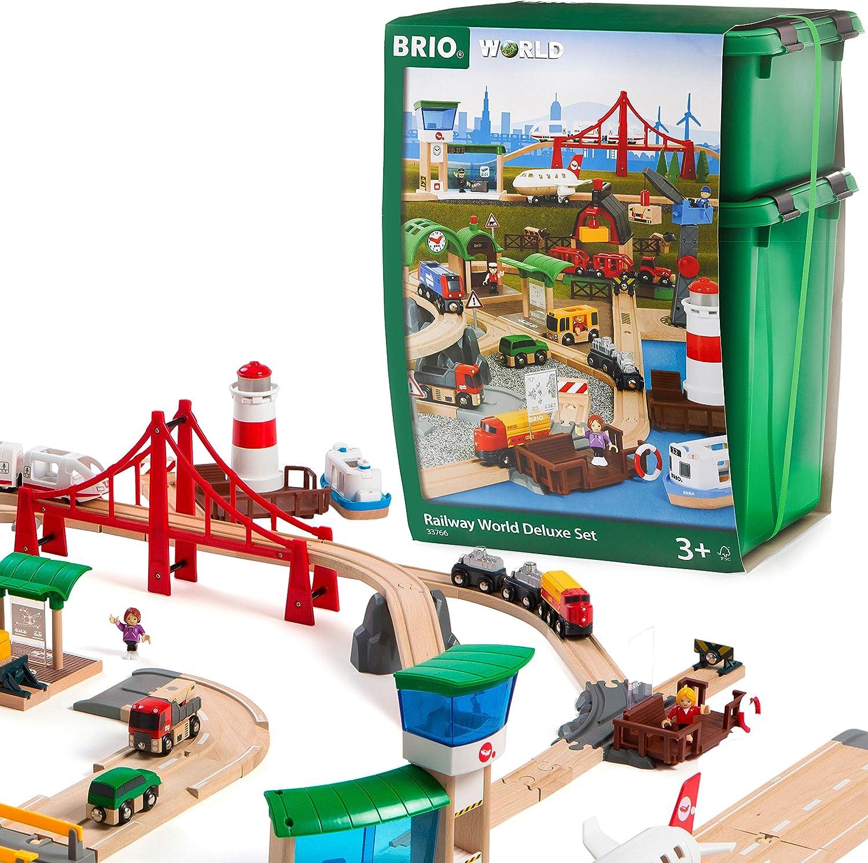 BRIO World Railway World Deluxe Set