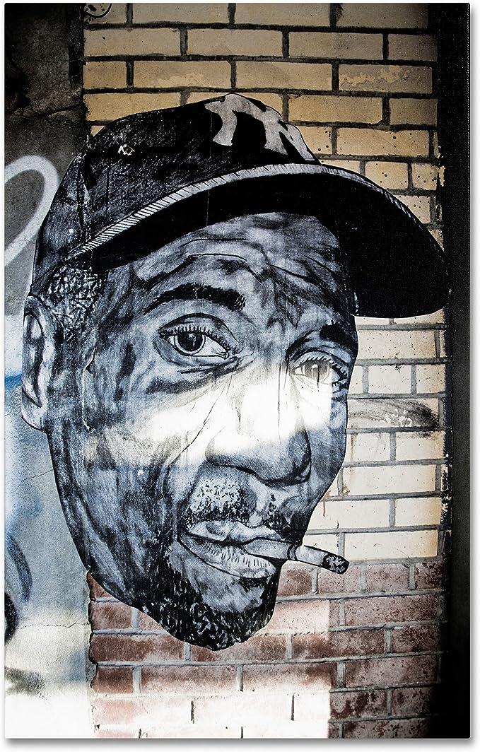 Trademark Marca Fine Art Hip-Hop Yankee Ventilador Pop Art por ...