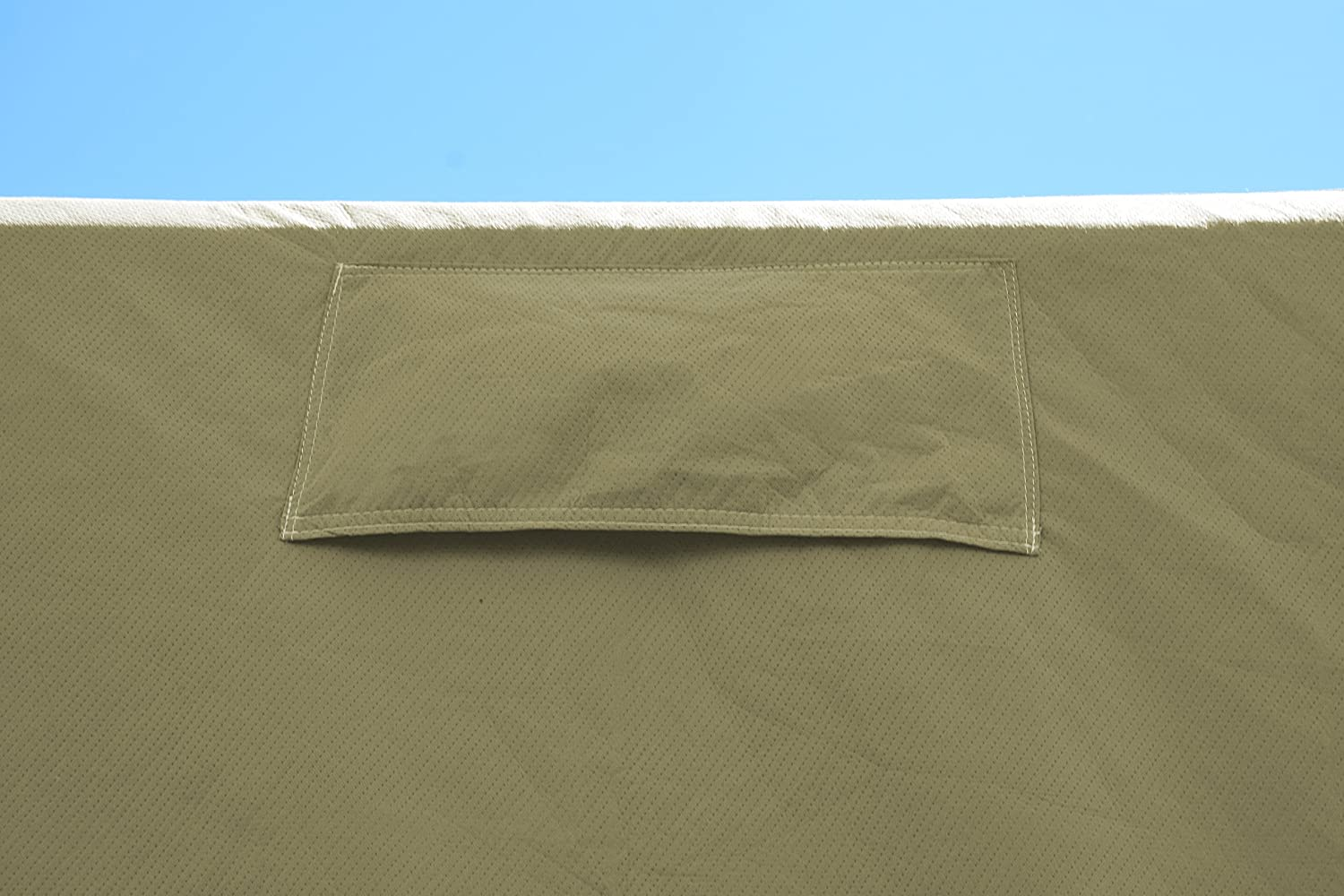 Fits 341-37 ADCO by Covercraft 74847 Storage Lot Cover for Travel Trailer RV Tan