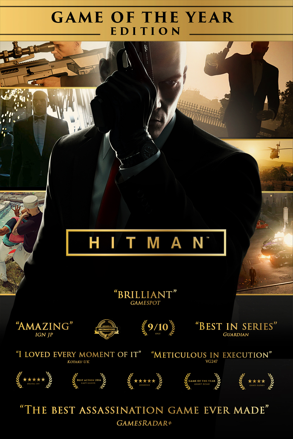 Amazon com: Hitman Game of the Year Edition [Online Game