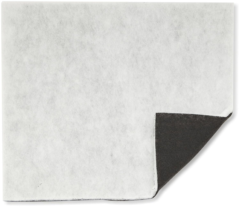 WENKO 2205010100 Combi-Filter - mit Aktivkohle gegen Fettgeruch, Polyester, 57 x 47 cm, Schwarz