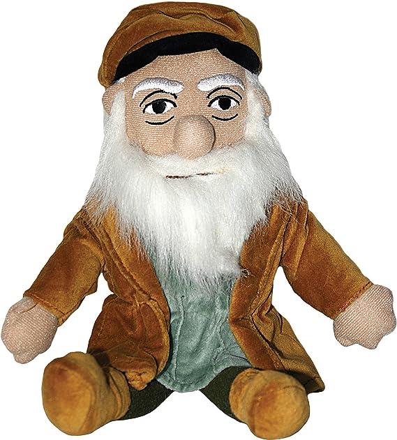 Amazon.com: Leonardo Da Vinci poco Pensador muñeca por la ...