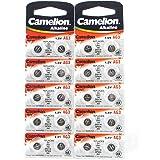 20 Camelion AG3 / LR41 / 192 / 392 Knopfzelle Alkaline Alkali Batterie,, 2x 10-er Pack, Lange Haltbarkeit (Haltbarkeitsdatum markiert)