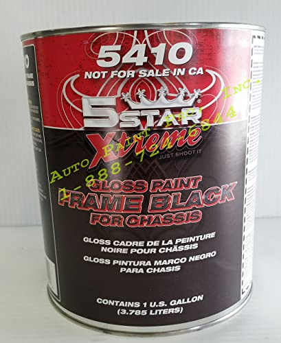 Gloss Black Frame/Chassis Truck AUTO Rust Prevention Paint
