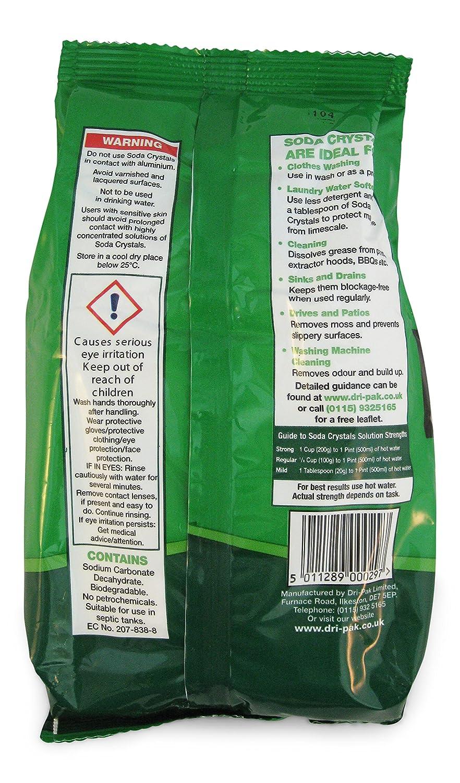 Dri Pak Soda Crystal, 1kg: Amazon.co.uk: Kitchen & Home