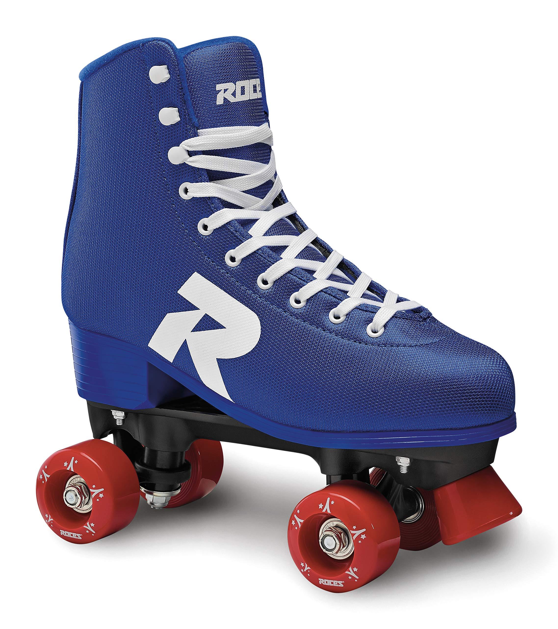 Roces 550062 Model 52 Star Roller Skate, US 6M/8W, Blue/White