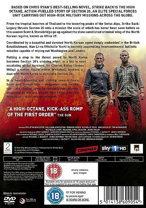 Amazon Strike Back Legacy Region 2 Movies Tv