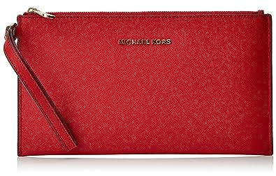 Michael Kors Jet Set Travel Borse a secchiello Donna, Red