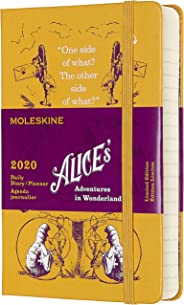 Moleskine 2020 Alice Wonder Daily Planner, 12M, Pocket, Yellow, Hard Cover (3.5 x 5.5)