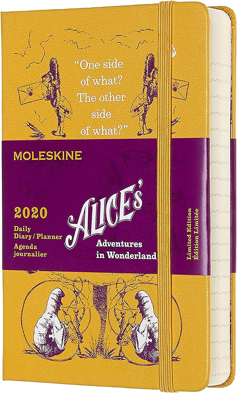 Moleskine - Agenda Semanal 2020 Alice, Tapa Dura, 13 x 21 cm ...