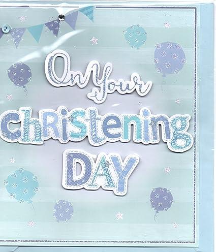 Tarjeta de bautizo - Tarjeta de bautizo para un niño - en su ...