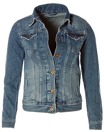 Pepe Jeans Damen Jacke Jeansjacke Thrift PL400755GD8 (Denim