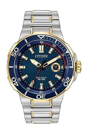 citizen watch endeavor men s quartz watch blue dial citizen watch endeavor men s quartz watch blue dial chronograph display and silver stainless steel bracelet