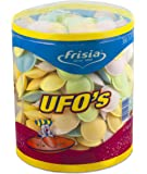 Rose Marketing UK UFO's Sherbert Filled Flying Saucers Drum (Pack of 300)
